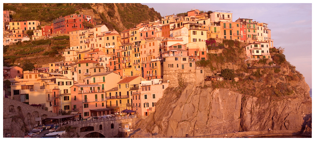 Manarola is the 2nd town of the Cinque Terra in Italy