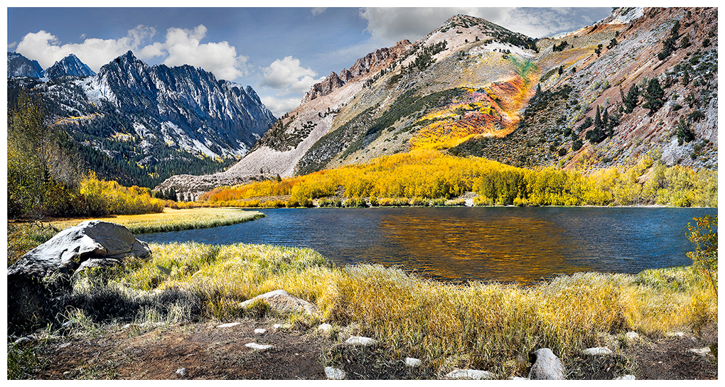 Fall colors at North Lake in the eastern Sierra