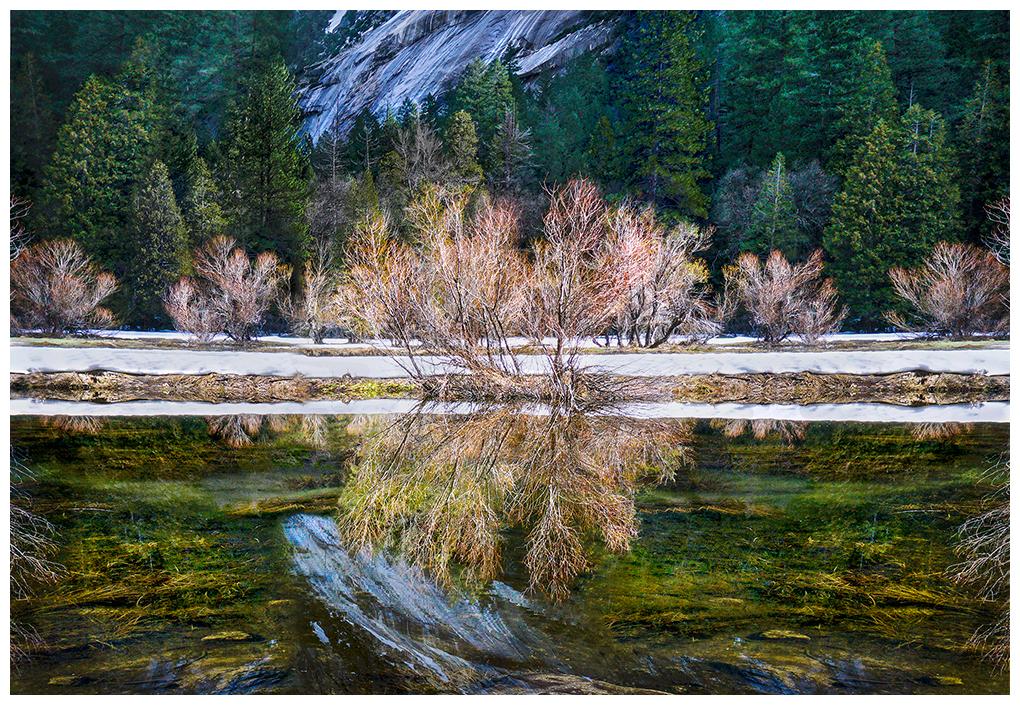 Reflections in Mirror Lake, Yosemite National Park